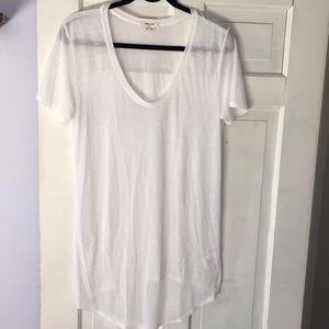 EUC Helmut Lang White Sheet T-shirt Size M